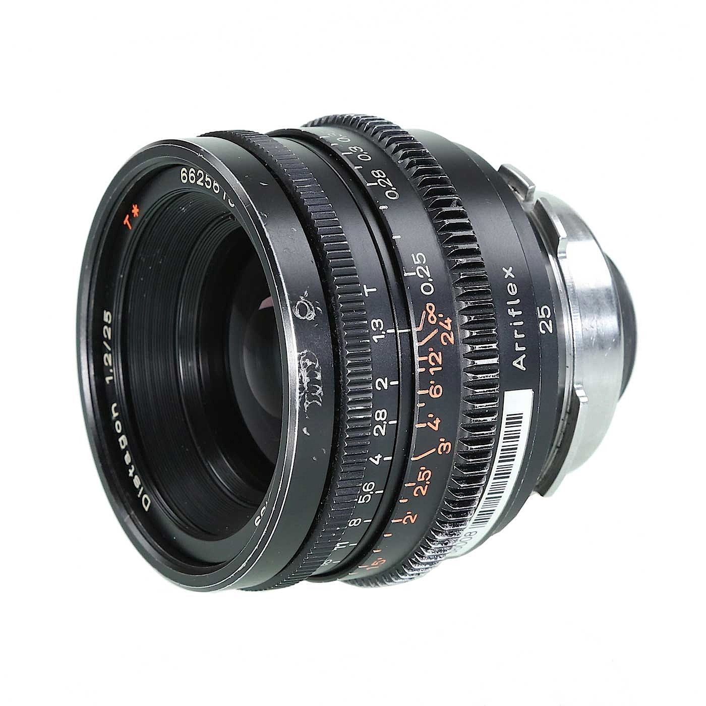 Zeiss 25mm T1.3 (Superspeed) Prime Lens