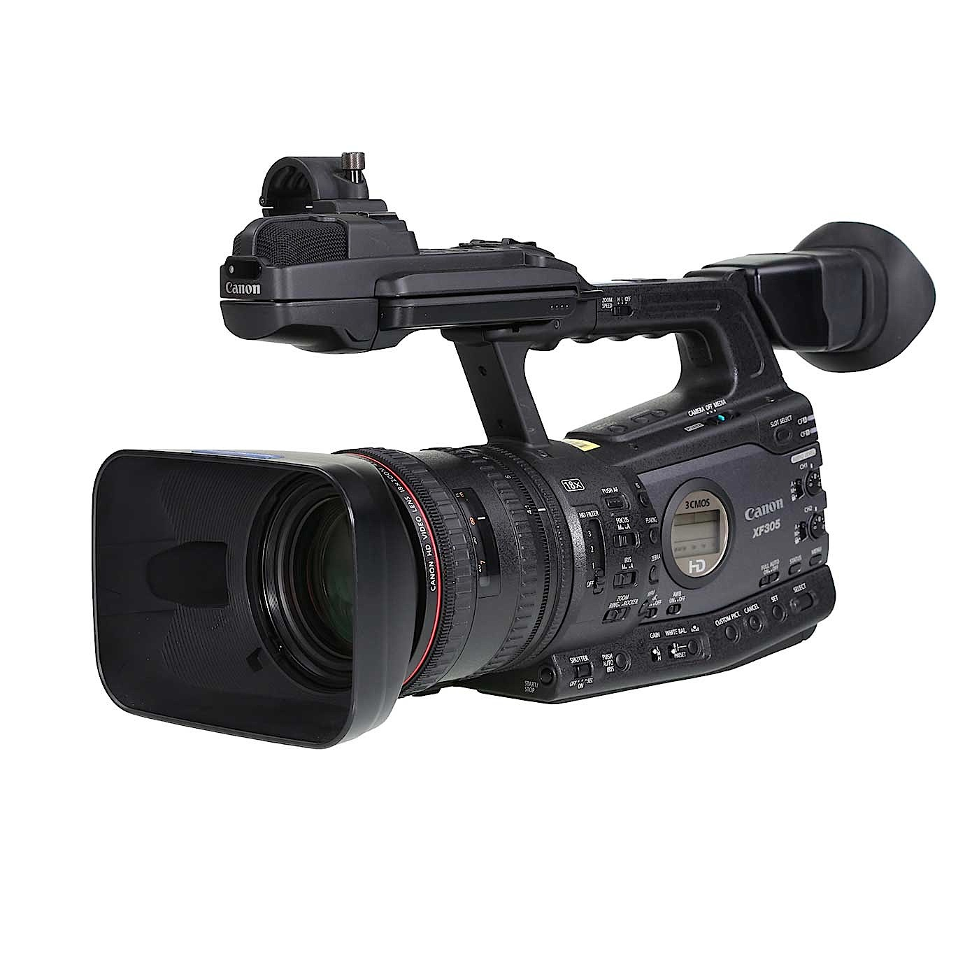 Canon XF305 MPEG2 Compact Flash Camcorder