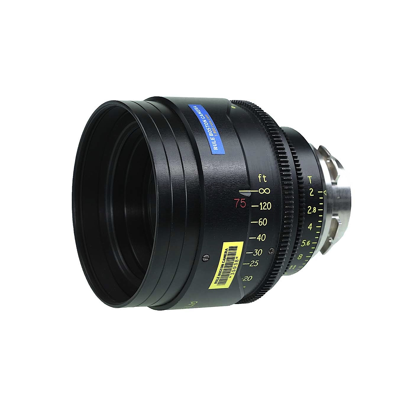 Cooke 75mm S4 PL Prime Lens