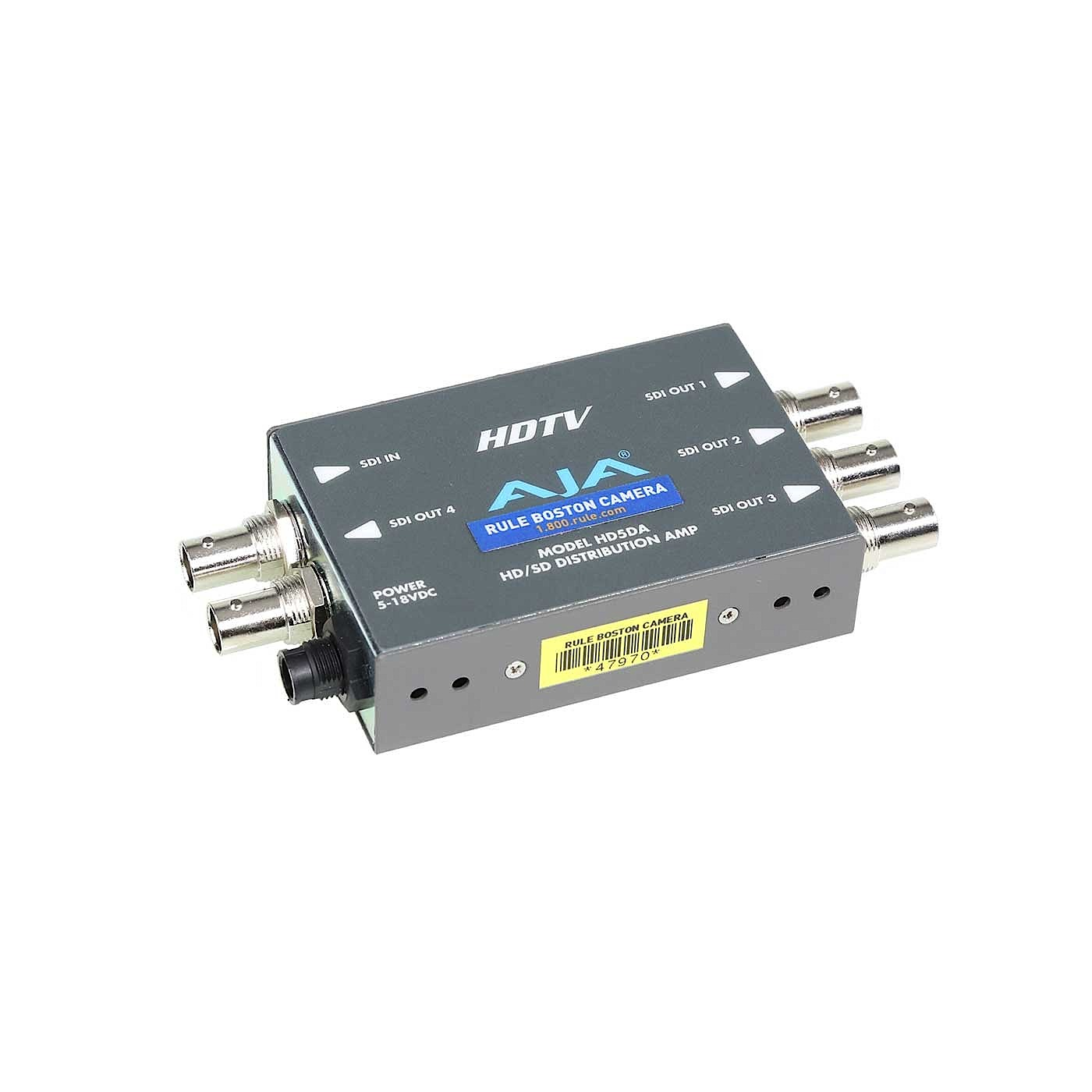 AJA HD5DA HD-SDI / SD-SDI Distribution Amplifier