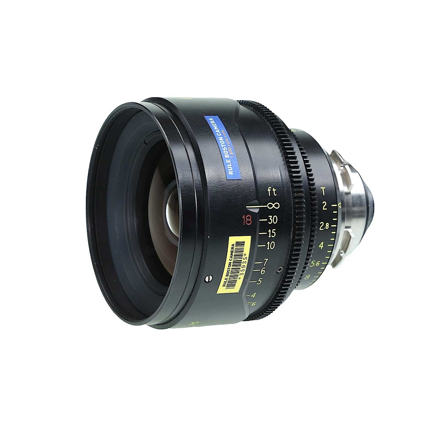 Cooke 18mm S4 PL Prime Lens