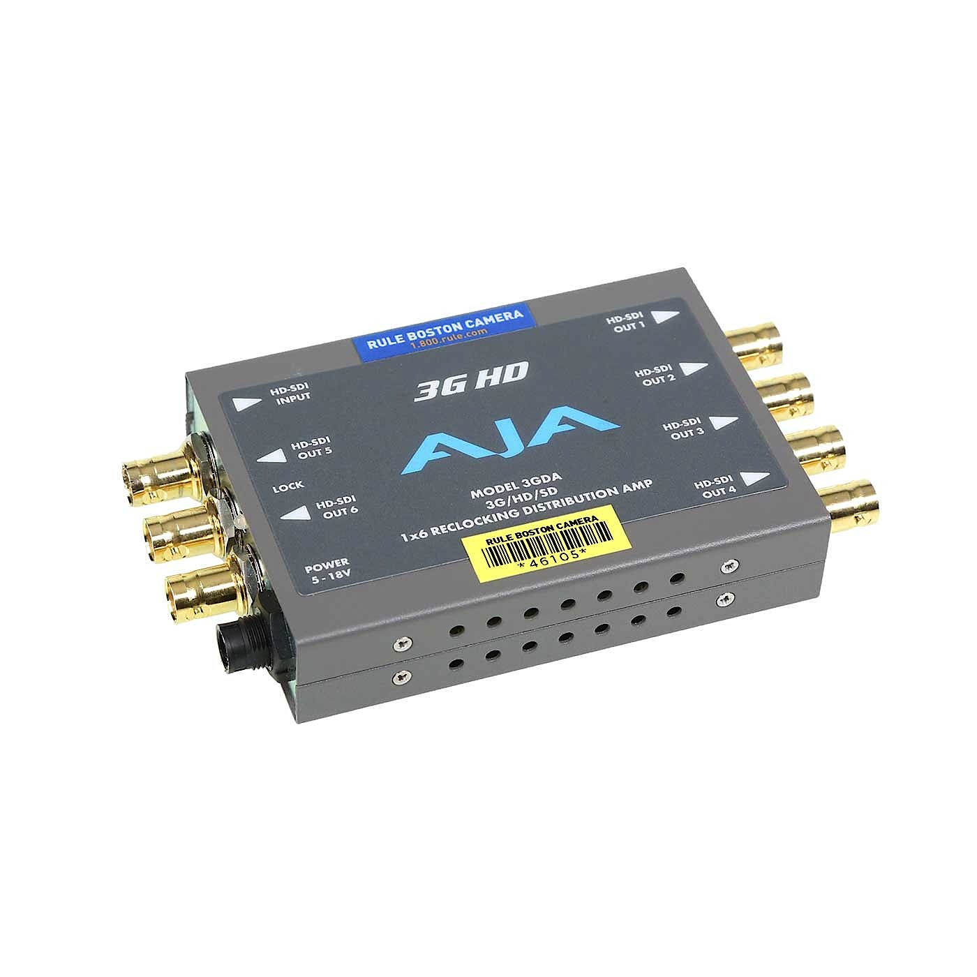 AJA 3GDA 3G / HD / SD SDI Reclocking Distribution Amplifier - VDA